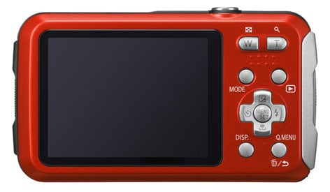 Panasonic DMC-TS30R 16.1MP 4x Optical Zoom LUMIX  Active Lifestyle Tough Camera in Red DMC-TS30R