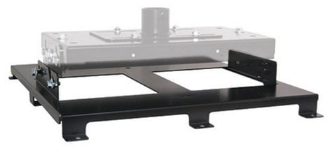 Chief Manufacturing HB75P  Custom VCM Interface Bracket in Black HB75P
