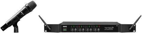 AKG DMSTetrad Vocal Set P5 4 Channel Wireless Handheld Microphone System DMS-TETRAD-VOCAL-P5