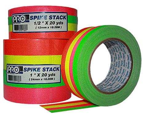 "Rose Brand TPCS0024 1/2"" Wide Fluorescent Spike Tape Combo Pack TPCS0024"