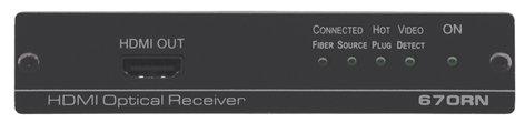 Kramer 670RN HDMI over Fiber Optic Receiver 670RN