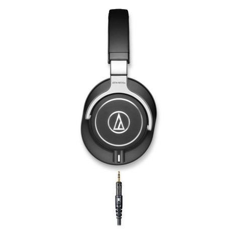 Audio-Technica ATH-M70x M Series Closed-Back Over-Ear Headphones wtih 45mm Drivers and Detachable Cable ATH-M70X