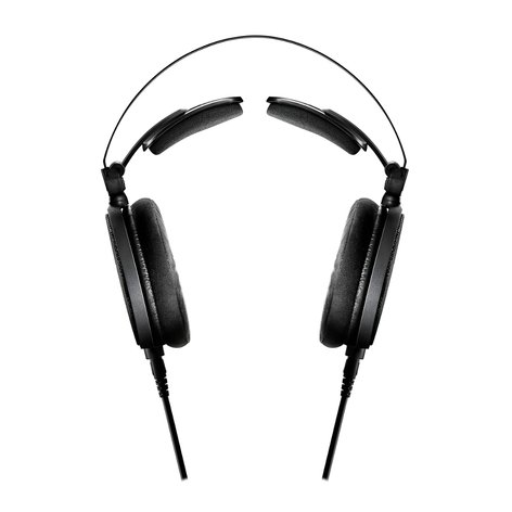 Audio-Technica ATH-R70x Open-Back Over-Ear Reference Headphones with Detachable Cable ATH-R70X