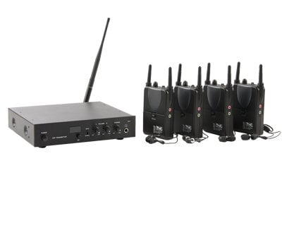Anchor AL-BP  16-Channel UHF Assitive Listening System with (4) Receivers and (1) Transmitter AL-BP