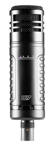 ART D7 Large Diaphragm Dynamic Microphone D7-ART