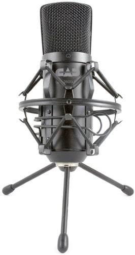 CAD Audio GXL2600USB  Large Diaphragm Studio Condenser Recording Microphone with Tripod and USB Cable GXL2600USB