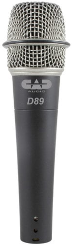 CAD Audio CADLive D89 Supercardioid Dynamic Instrument Microphone D89