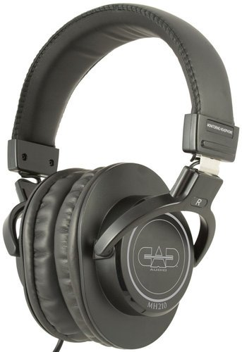CAD Audio MH210 Closed Back Studio Headphones, Black
