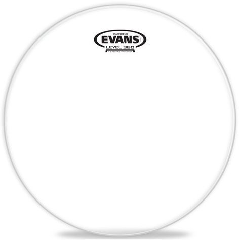 "Evans S14R50  14"" Clear Snare Side 500 Drum Head S14R50"