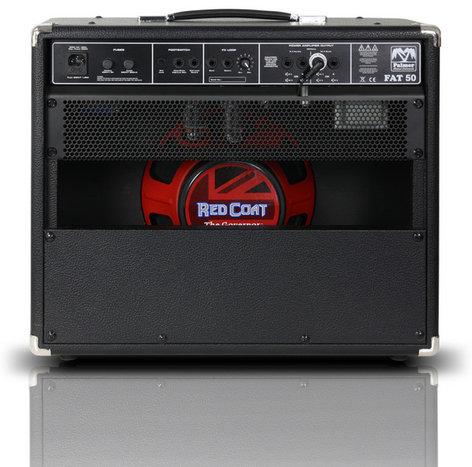 "Palmer PFAT50 Fat 50 50W 4-Channel 1x12"" Tube Guitar Combo Amplifier PFAT50"