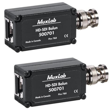 MuxLab 500701-2PK HD-SDI Balun 2-Pack MUX-500701-2PK