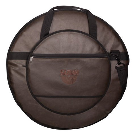 """Sabian C24VBWN  Classic 24 Vintage Brown Cymbal Bag for Cymbals up to 24"""" C24VBWN"""