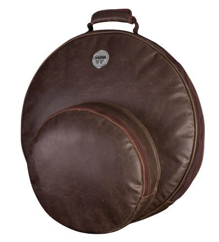 "Sabian F22VBWN Fast 22 Vintage Cymbal Bag in Vintage Brown, holds Cymbals up to 22"" F22VBWN"