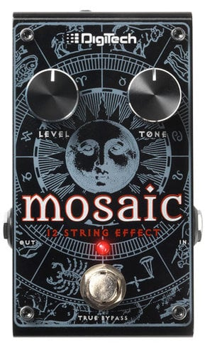 DigiTech Mosaic Polyphonic 12 String Emulator Effects Pedal MOSAIC-DIGITECH
