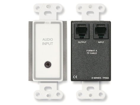 """Radio Design Labs D-TPS8A Active Two-Pair Audio Sender, 1/8"""" to RJ45 D-TPS8A"""