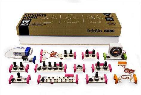 Littlebits Synth Kit Modular Analog Synthesizer Kit SYNTHKIT