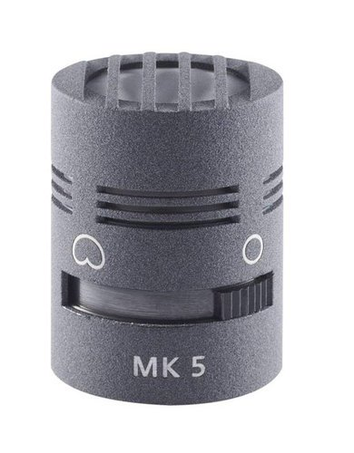 Schoeps MK 5 Switchable Omnidirectional / Cardioid Microphone Capsule for Colette Condenser Microphone in Matte Gray MK-5G
