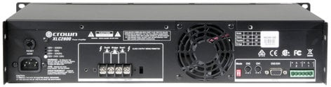 Crown XLC2800 XLC Series Power Amplifier with 800W per Channel @ 4 Ohms XLC2800