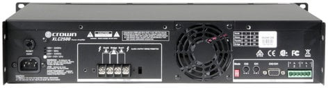 Crown XLC2500 XLC Series Power Amplifier with 500W per Channel @ 4 Ohms XLC2500