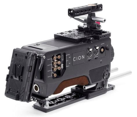 Wooden Camera 195400 AJA CION Accessory Kit - Pro, V-Mount WC-195400