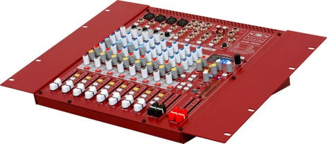 Galaxy Audio AXS-10RM 10 Channel Rackmount Mixer with 4 Microphone Inputs AXS-10RM