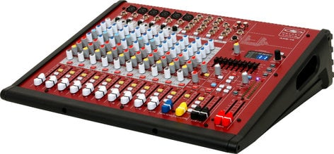 Galaxy Audio AXS-14 14-Channel Mixer with (6) XLR Inputs and USB Connectivity AXS-14