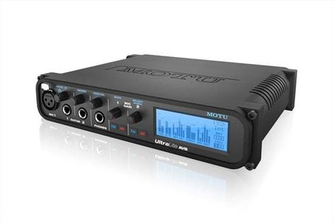 MOTU UltraLite AVB 18x18 USB / AVB Audio Interface with DSP Mixing ULTRALITE-AVB