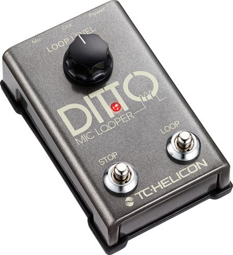 TC Electronic Ditto Mic Looper Vocal Looper Effects Pedal DITTO-MIC-LOOPER