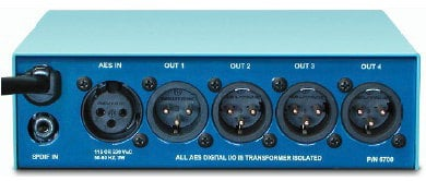 Henry Engineering Digital DA 2X4 Zero Delay AES/SPDIF Distribution System DIGITAL-DA-2X4