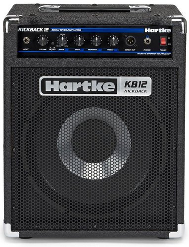 """Hartke Kickback KB12 500W 12"""" Bass Combo Amplifier KB12"""