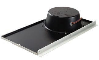 """Lowell LT-810-72-BB 15W 8"""" Drop Ceiling Speaker with 70/25V Transformer, White Grille and Backbox LT-810-72-BB"""