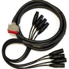 Mogami Gold AES DB25-XLR-25 25ft 8-Channel DB25 to AES/EBU XLR Snake GOLD-AES-DB25-XLR-25