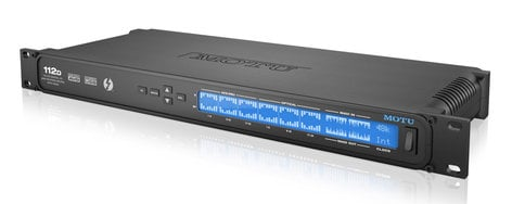 MOTU 112D  Thunderbolt/AVB/USB Audio Interface and Routing Matrix with 112 Channel Digital I/O 112D