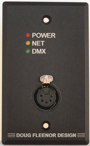 Doug Fleenor Designs NODE1-A Wall-Mount Ethernet to DMX Interface NODE1-A