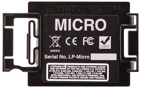 Litepanels 900-5102 Micro Back Door Replacement 900-5102