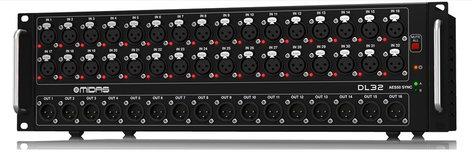 Midas DL32 32x16 Digital Stage Box DL32-MIDAS