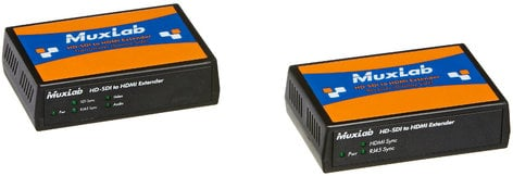 MuxLab 500715 3G-SDI to HDMI Extender Kit MUX-500715