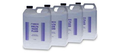 Rosco Laboratories Delta Haze Fluid 4-count 4-Count of Delta Hazer Fluid 4 Liter Bottles DELTA-HAZE-FLUID-4CT