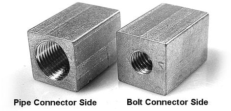 """The Light Source MP.5B.5M 1/2"""" Pipe to 1/2"""" Bolt Adapter MP.5B.5M"""