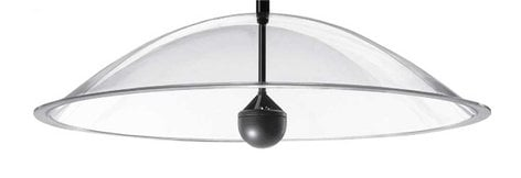 "SoundTube SS30 Secret Sound® 30"" Clear Dome Speaker SS30-CLEAR"
