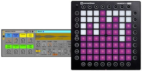 novation launchpad pro launchpad pro 64 pad usb midi grid controller full compass systems. Black Bedroom Furniture Sets. Home Design Ideas