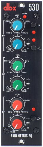 DBX 530 500 Series 3-Band Parametric EQ 530-DBX