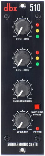 DBX 510 500 Series Subharmonic Synthesizer 510