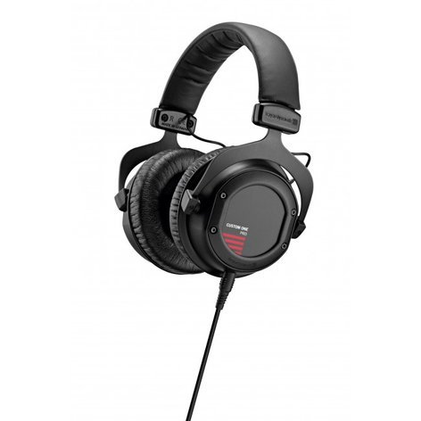 Beyerdynamic CUSTOM ONE PRO PLUS Stereo Headphones with Detachable Cable and Interchangeable Designs, in Black CUSTOM-ONE-PRO+BLACK