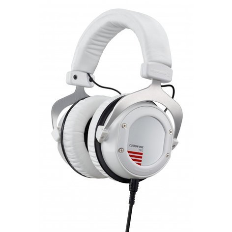 Beyerdynamic CUSTOM ONE PRO PLUS Stereo Headphones with Detachable Cable and Interchangeable Designs, in White CUSTOM-ONE-PRO+WHITE