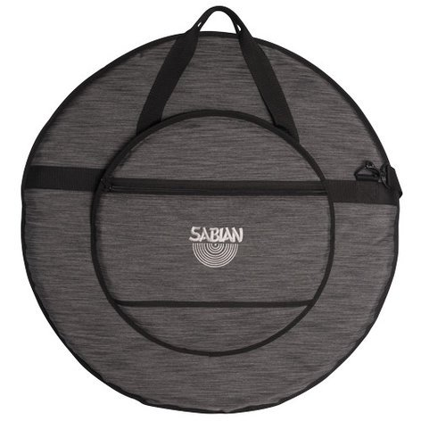 "Sabian C24HBK  Classic 24 Heathered Gray Cymbal Bag for Cymbals up to 24"" C24HBK"