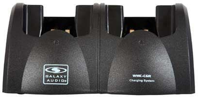 Galaxy Audio WMC-CGR  DC Charging Station for Galaxy Wireless Transmitters WMC-CGR