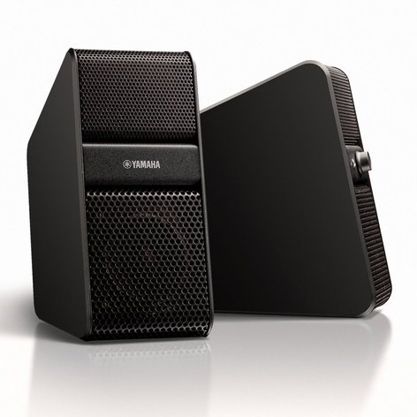 Yamaha NX-50 Set of Premium Computer Speakers with Dual Inputs NX-50BL