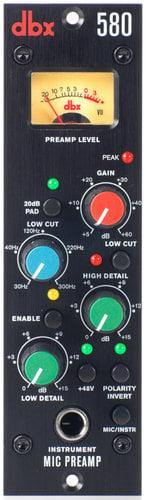 DBX 580 500 Series Microphone Preamplifier 580