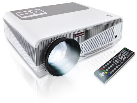 """Pyle Pro PRJAND615  3D HD 1080p Dual Core Android CPU Projector with 5.8"""" LED and Wi-Fi Wireless Internet PRJAND615"""